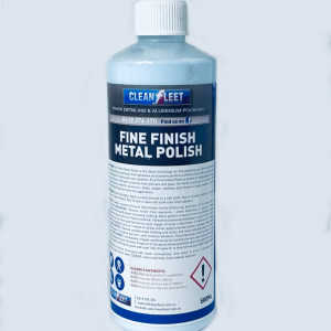 Fine finish metal polish